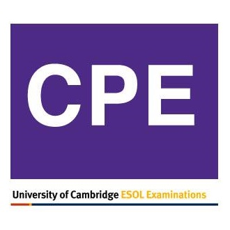 Certificate of Proficiency in English (CPE)
