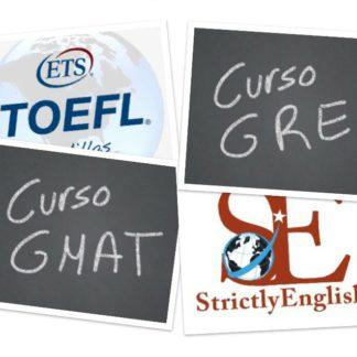 GMAT, GRE y TOEFL